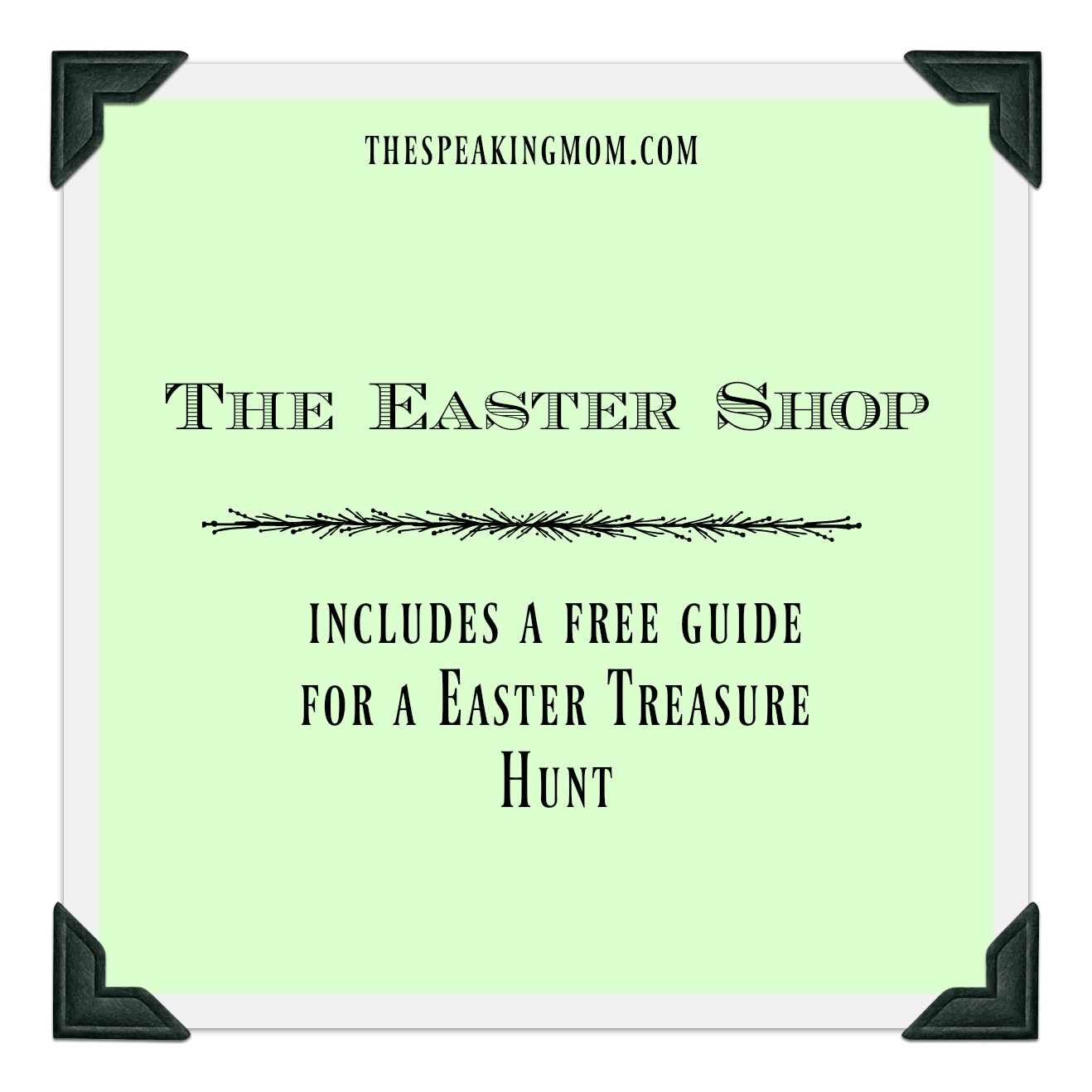 The Easter Shop: Fun Activities For Children - The Speaking Mom